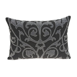 Sophia Traditional Grey Pillow Cover