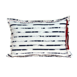 Parkland Collection Decorative Nautical White Pillow Cover PILD11143C
