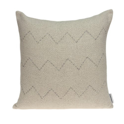 Parkland Collection Decorative Transitional Beige Pillow Cover PILD11154C
