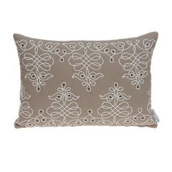 Parkland Collection Decorative Traditional Tan Pillow Cover PILD11157C