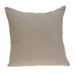 Yogi Transitional Tan Pillow Cover