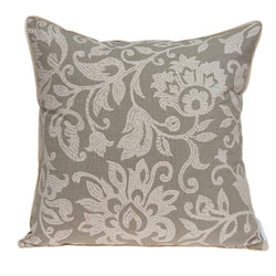 Amila Transitional Tan Pillow Cover