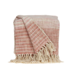 Parkland Collection Transitional Multicolored Handloomed Acrylic Blend Throw THRE21015