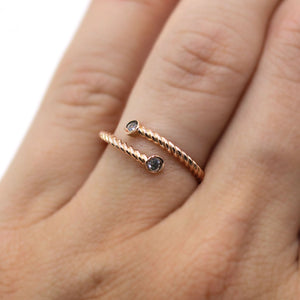 Tied to You Ring in 18k Gold