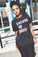 Load image into Gallery viewer, Excuse Me Bruv -Unisex Heavy Cotton Tee