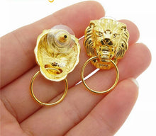 Load image into Gallery viewer, True Sass Lion Roar Women's Earrings