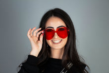 Load image into Gallery viewer, True Sass Real Love Heart Glasses