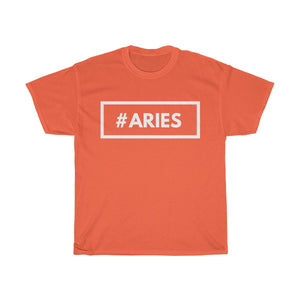 #Aries -Unisex Heavy Cotton Tee