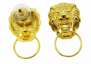 True Sass Lion Roar Women's Earrings