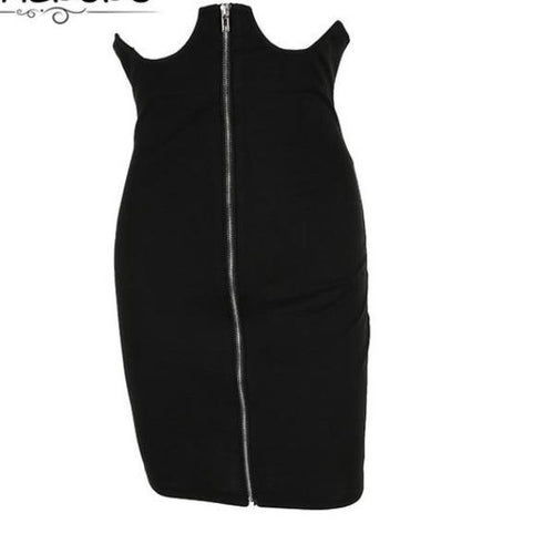 True Sass Bodycon High Waist Corset Style Skirt