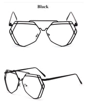 Load image into Gallery viewer, True Sass Large Hexagon Eyewear