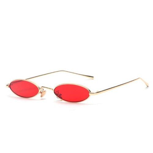 True Sass Small Oval Rave Sunglasses
