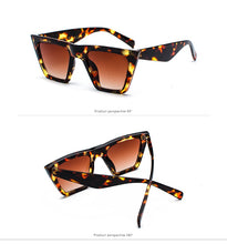 Load image into Gallery viewer, True Sass Square Frame Women's Sunglasses