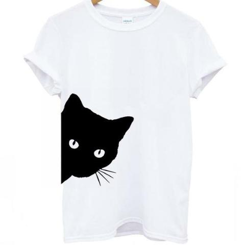 Curious Cat Women's T-Shirt