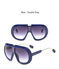 Load image into Gallery viewer, True Sass Oversized Women's Goggle Style Sunglasses