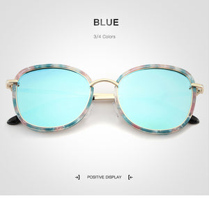 Real sass contrast lense and frame sunglasses
