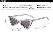 Load image into Gallery viewer, Sassy Cat Eye Women's Sunglasses