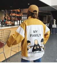 Load image into Gallery viewer, True Sass My Family Jacket