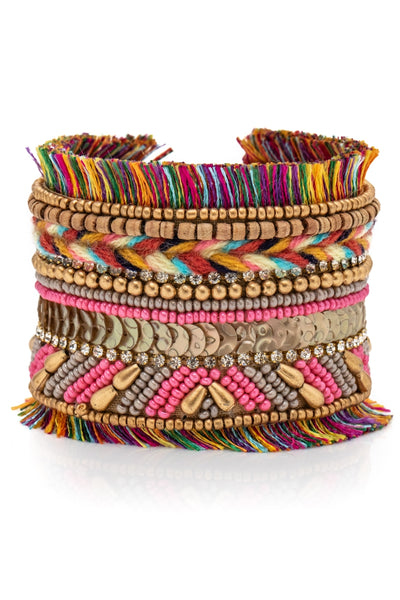 Colorful Fringe Bangle