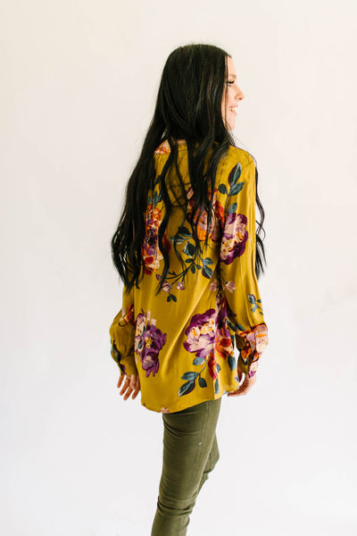 Fall Florals Blouse