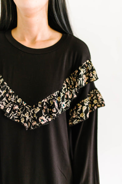 Sophisticated Florals Top