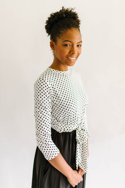 Perfection Polka Dot Dress