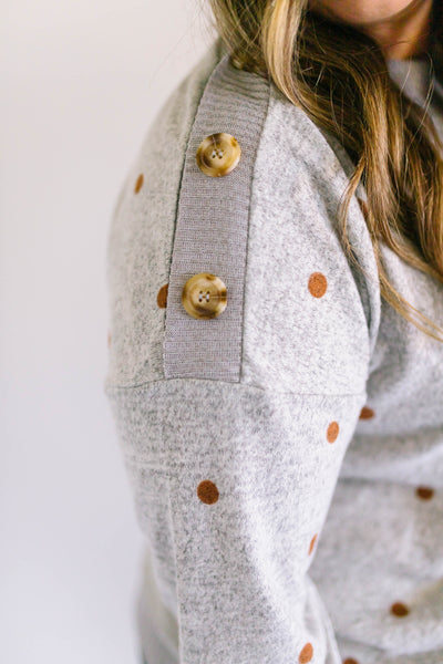 Cute as a Button Sweater