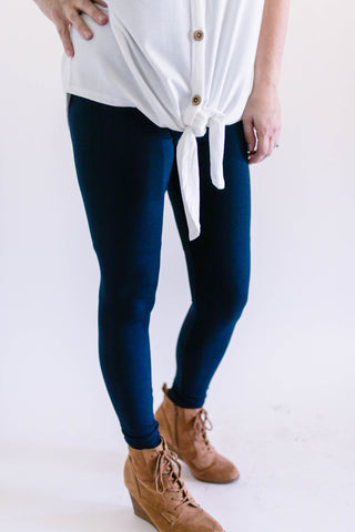 Butter Leggings Navy