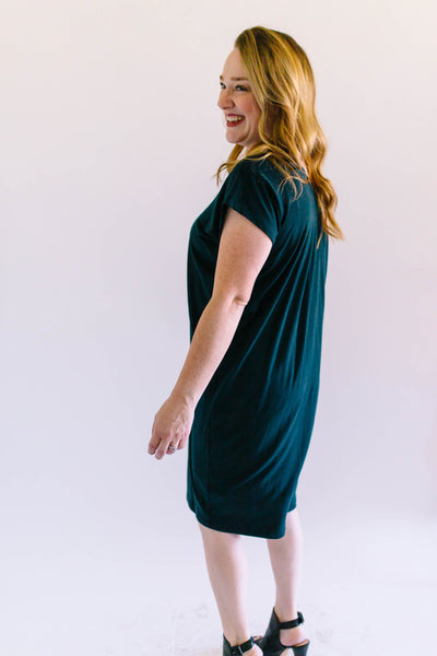 Blissful Button Dress