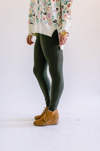 Butter Leggings Olive