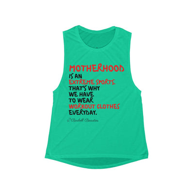 Motherhood Women's Flowy Scoop Muscle Tank