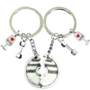 Train Together Stay Together Partner Keychains