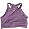 Erica High Neck Mauve Sports Bra