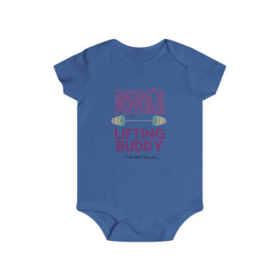 Mom's Future Lifting Buddy Infant Rip Snap Tee