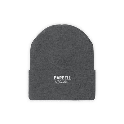 Barbell Beauties Knit Beanie