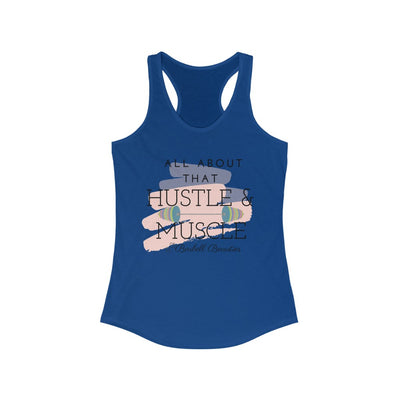 Hustle And Muscle Women's Ideal Racerback Tank