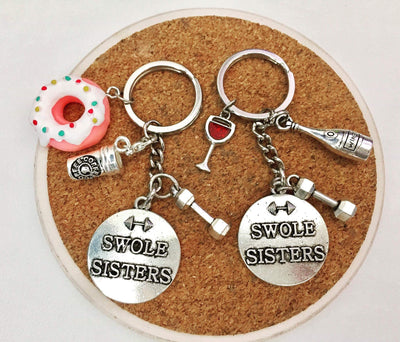 SwoleSisters Partner Keychains