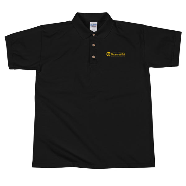 Gramwiki Embroidered Polo Shirt