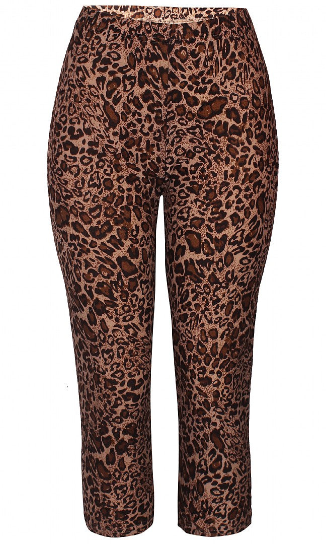 3/4 leopard leggings