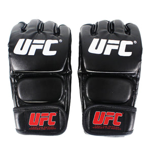 Black UFC Training Gloves