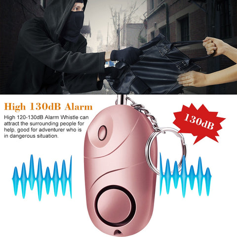 Image of Emergency Self-Defense Security Alarm Key chain