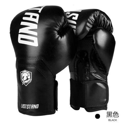 Adults Boxing Gloves Leather MMA