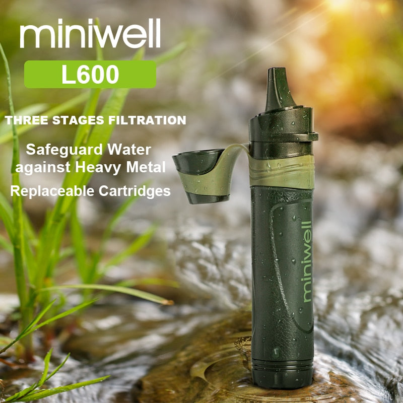Outdoor Survival Gear Portable Water Filter