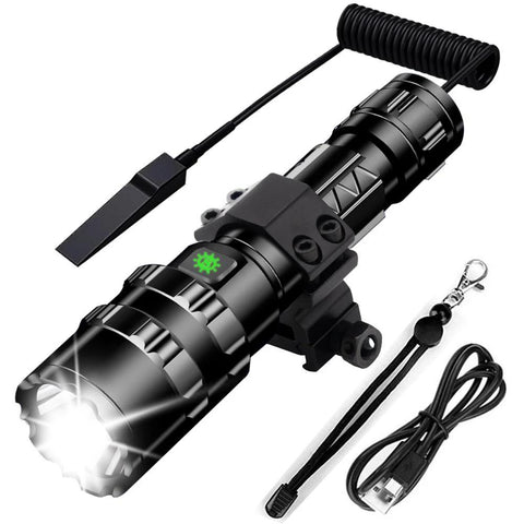 Most Powerful LED Tactical Flashlight