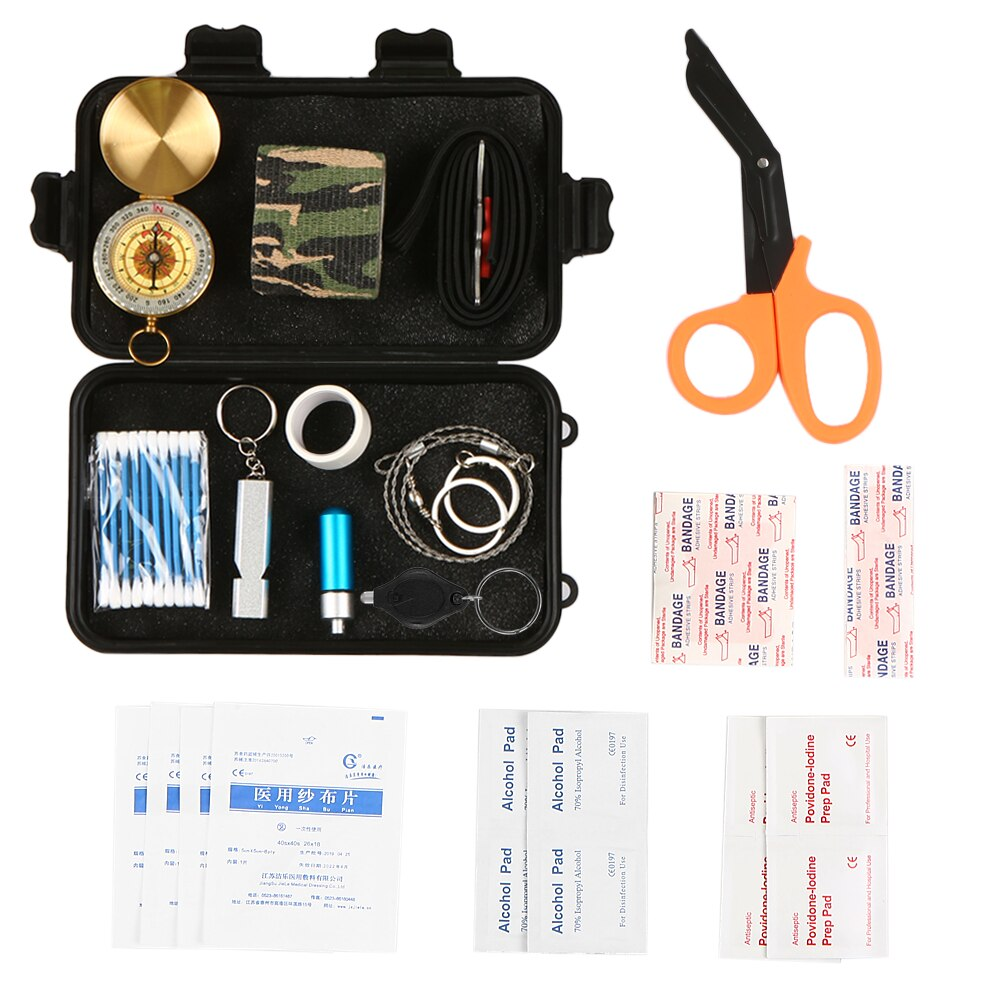 Outdoor First Aid Essential Supplies Kit