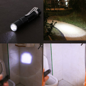 Portable Mini Penlight Q5 2000LM LED Flashlight