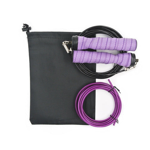 Image of Skipping Jump Rope With Bag