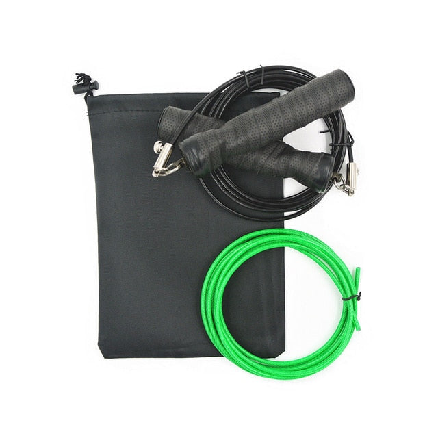 Skipping Jump Rope With Bag
