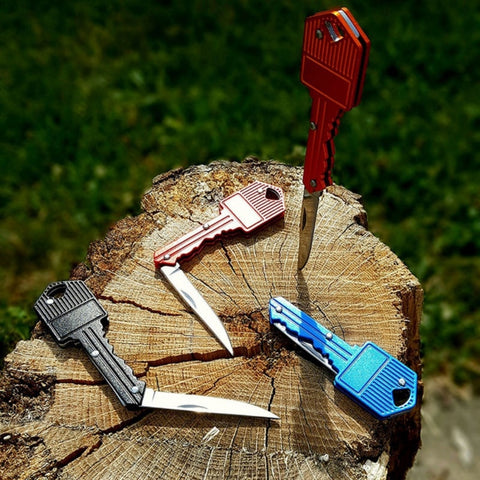Mini Pocket Key-Shaped Knife