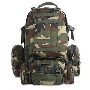 50L Outdoor Backpack Molle Military